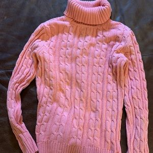 Croft&Barrow cable turtle neck sweater